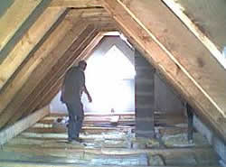 Prepping an attic before Loft Conversion